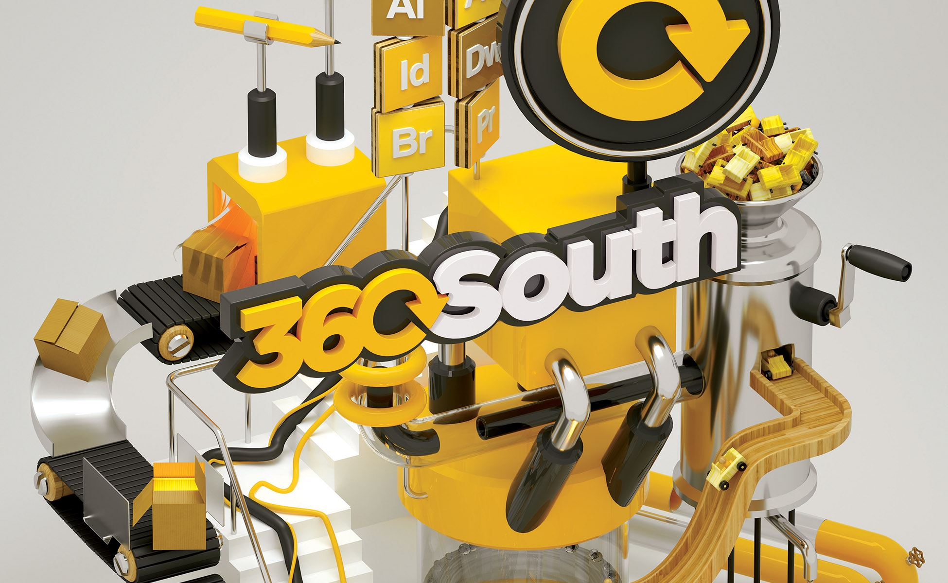 360South Print Artwork - Wide